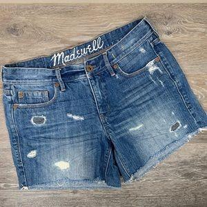 Madewell Denim Cut-off Shorts 28